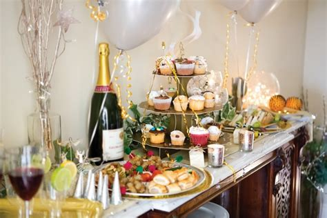 new year buffet ideas new years decoration themes menu