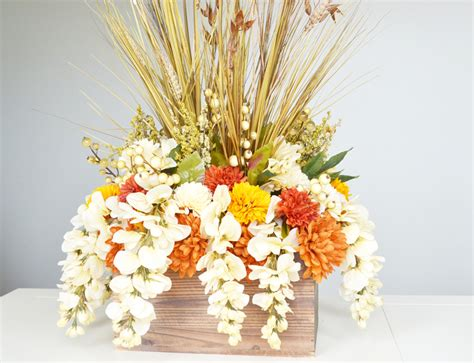 how to make a table centerpiece how to make a fall table centerpiece