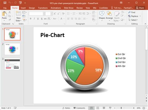 Best Chart Powerpoint Templates In 2017 Ppt Chart