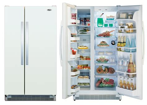 whirlpool edfhkxv  cu ft side  side refrigerator