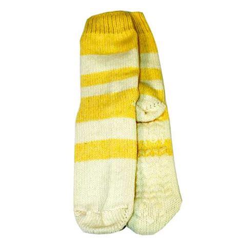 lemon slipper socks totes toasties wool slipper socks in lemon brand new