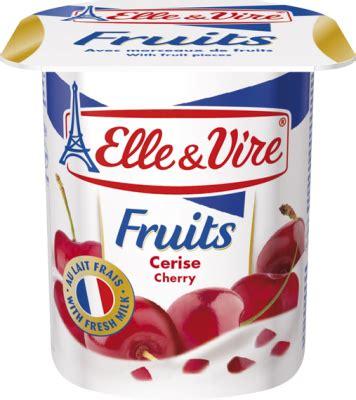 Vire Fruits Yoghurt dessert lact 233 224 la cerise cr 232 mes dessert et desserts