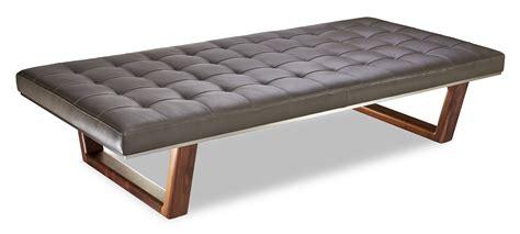 edison bench mid century modern furniture benches