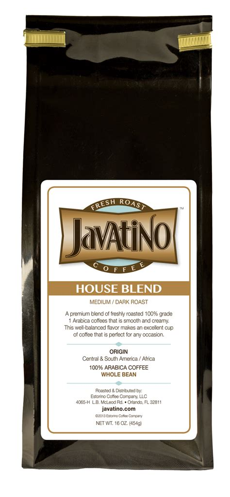 House Blend Premium Ground Coffee Lengkuas house blend subscription javatino