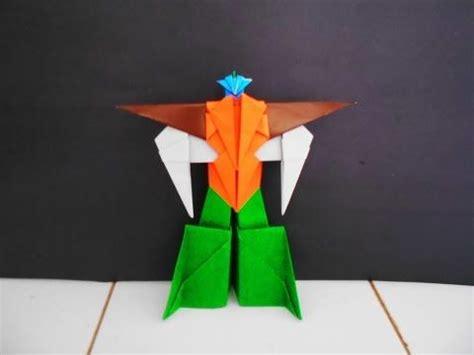 Membuat Robot Dari Kertas Origami   cara membuat robot robotan dari kertas cara membuat