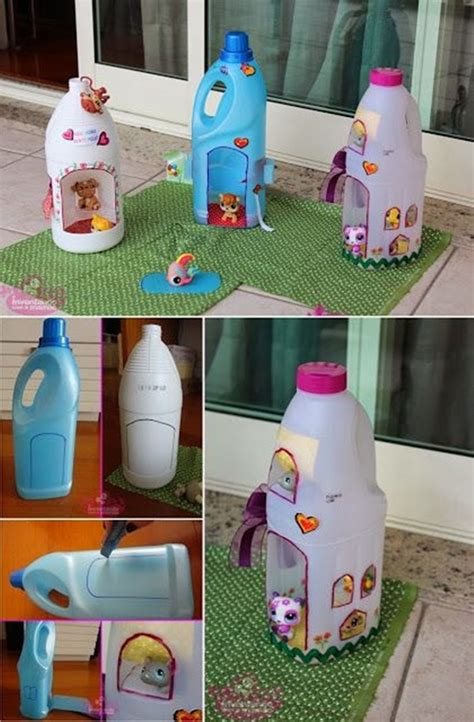 25 Plastic Bottle Craft Ideas For