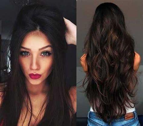 hair color very dark brown 25 brunette hairstyles 2015 2016 hairstyles