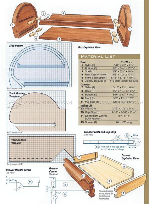 Wood Desk Woodworking Plans