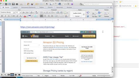 dropbox public folder dropbox public folder alternative aws youtube