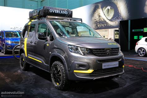 peugeot 4x4 models 4x4 concept keeps the 2018 peugeot rifter company in