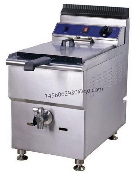 Fryer Gas Butterfly 6 Liter china luxury model single tank single basket commercial 18l gas fryer chicken kfc fish