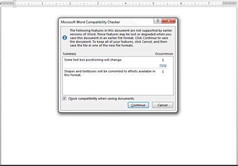 word notebook layout wont save saving from word 2013 to word 97 2003 corrupts table of