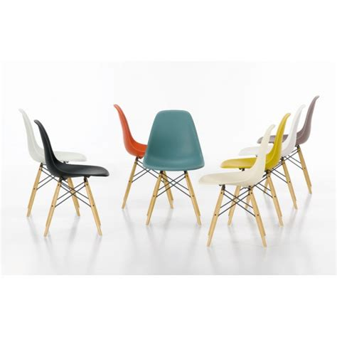 chaises dsw eames chaise dsw eames vitra blanche ideesboutique com