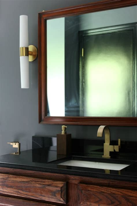 black gray and brass master black gray and brass master bathroom remodel