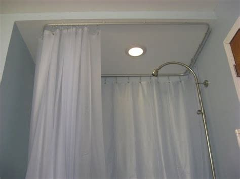 ceiling mount shower curtain ceiling mount shower curtain rods youtube