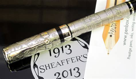 Limited Edition Pen Sheaffer Sgc 100 Translucent Barrel Ballpoint limited edition silver sheaffer centennial pen