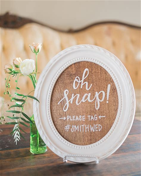 Mexico Wedding Hashtags by Wedding Signage Spotlight Whimsy Design Studio