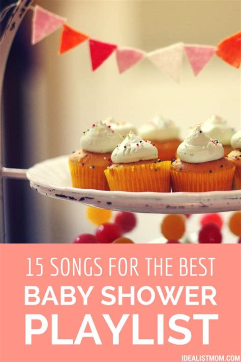 15 songs for the best baby shower playlist