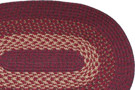 burgundy braided rug 1607 burgundy braided rug