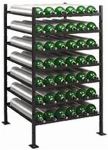 oxygen cylinder horizontal rack free shipping
