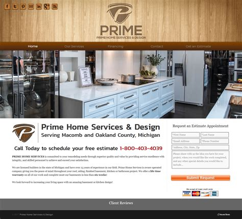 prime home services design freelance designz