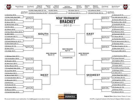 basketball bracket challenge hornets247 march madness 2012 bracket challenge new