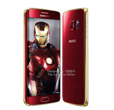 Samsung Galaxy S6 Ironman Edition Samsung Galaxy S6 And S6 Edge Iron Edition Coming Soon
