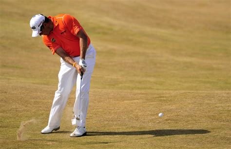 sean foley swing theory british open leader lee westwood one round away from