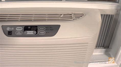 Ac Lg S09lpbx R lg 6 000 btu low profile window air conditioner the home