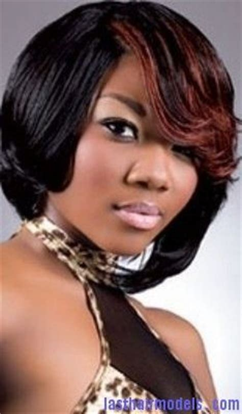 pictrue of a weave feather hairstyle short feathered bob hairstyles for black women nvrgdaw