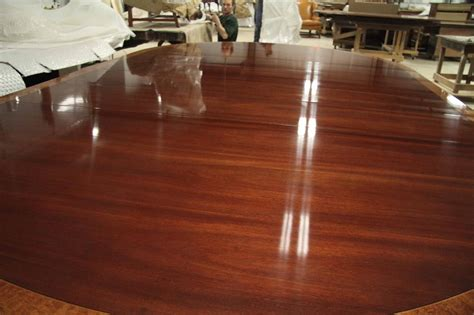 84 inch dining custom american made 84 inch round mahogany dining table