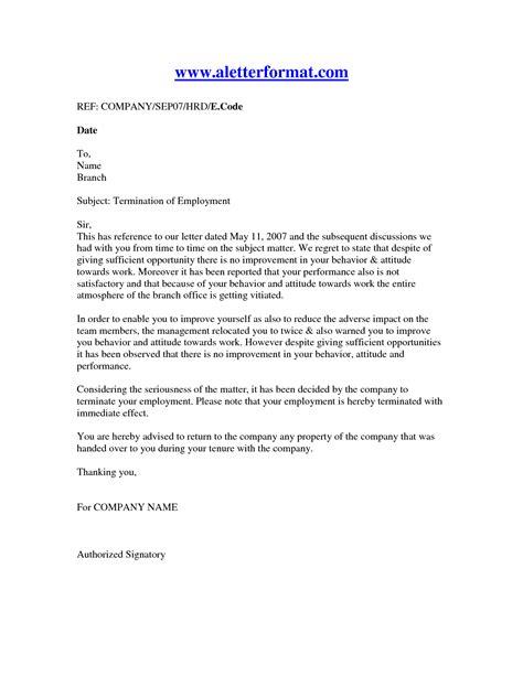 termination employment letter oyle kalakaari co