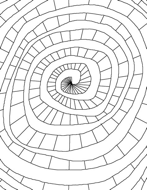 pics to color coloring page world color spiral