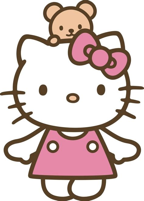 imagenes de kitty rayada hello kitty猫正面矢量图 素材公社 tooopen com