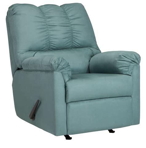 blue rocker recliner darcy blue sky rocker recliner from ashley 7500625