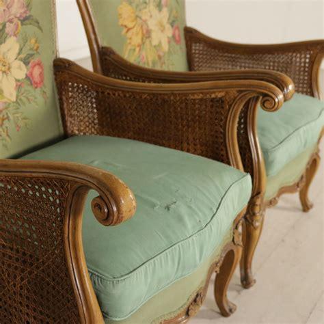 poltrone in stile coppia di poltrone in stile mobili in stile bottega