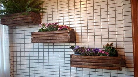 hanging wall planters diy pallet wall hanging planters pallet furniture diy