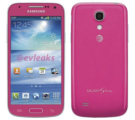 galaxy s4 colors samsung galaxy s4 mini spotted in new colors for at t and