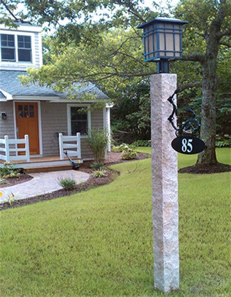 granite light posts massachusetts granite posts mailboxes brackets and accessories