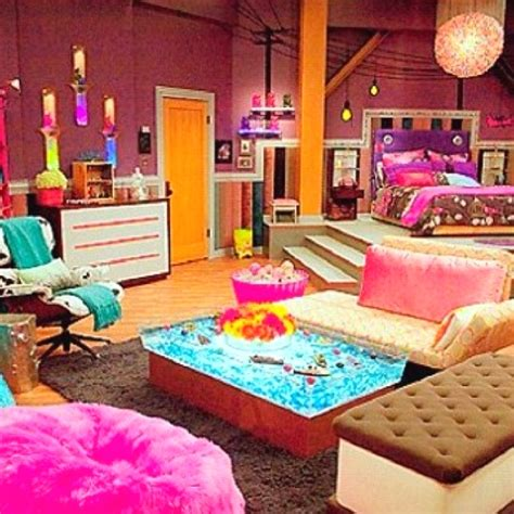 icarly s bedroom cinema pinterest