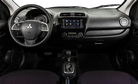 mirage mitsubishi interior car and driver