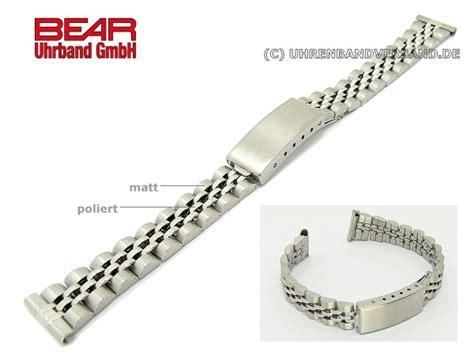 Edelstahl Uhrenarmband Polieren by Edelstahl Uhrband 14mm Teilweise Poliert