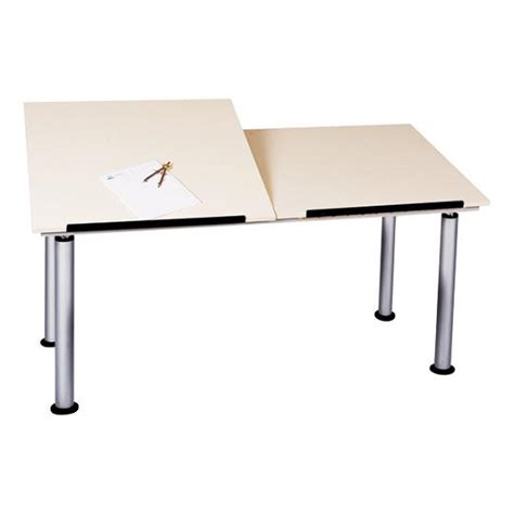 Best Drafting Table Shain Altd2 6030 Adjustable Height Split Top Drafting Table
