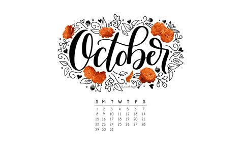 october  printable calendar tech pretties dawn nicole designs