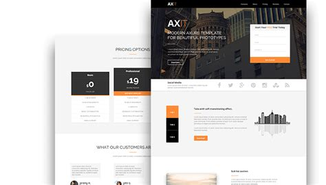 axure tablet template axure templates