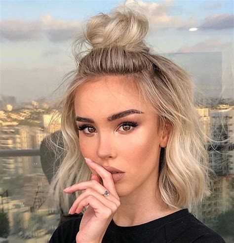 cute easy hairstyles for short curly hair archives short