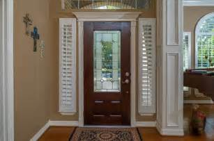 blinds for sidelight windows shutters for sidelight windows traditional entry by