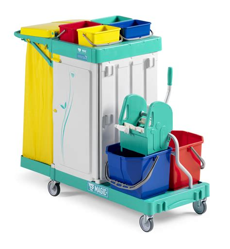 Mainan Anak Magical Cleaning Trolley 1 al ariq