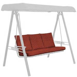 Outdoor Swing Cushions With Backs Shop Jaydon Geo Swing Cushion At Lowes
