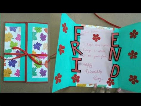 friendship cards for to make diy friendship card how to make card for friends